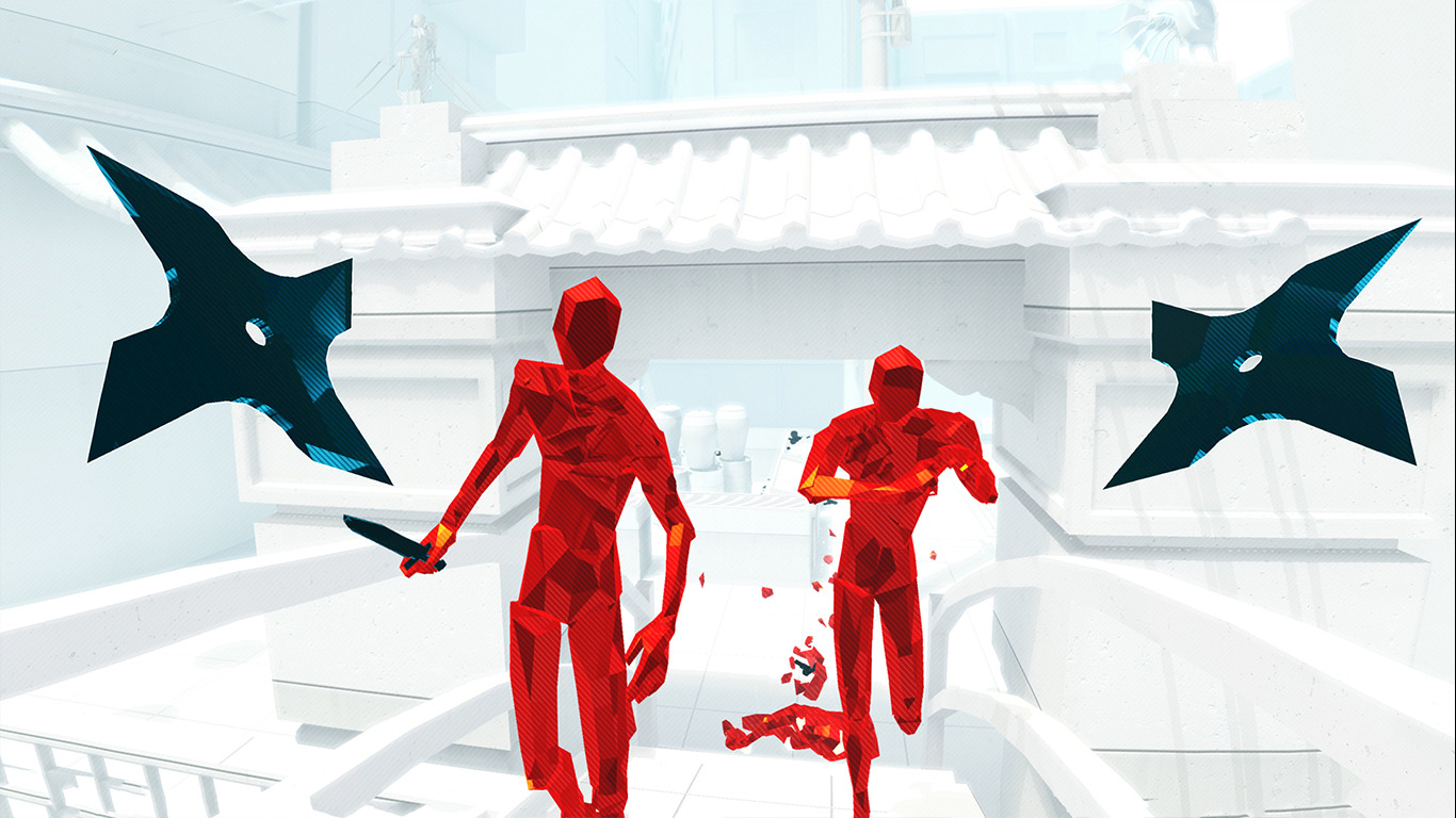 Virtual Reality in Mannheim – Superhot Game