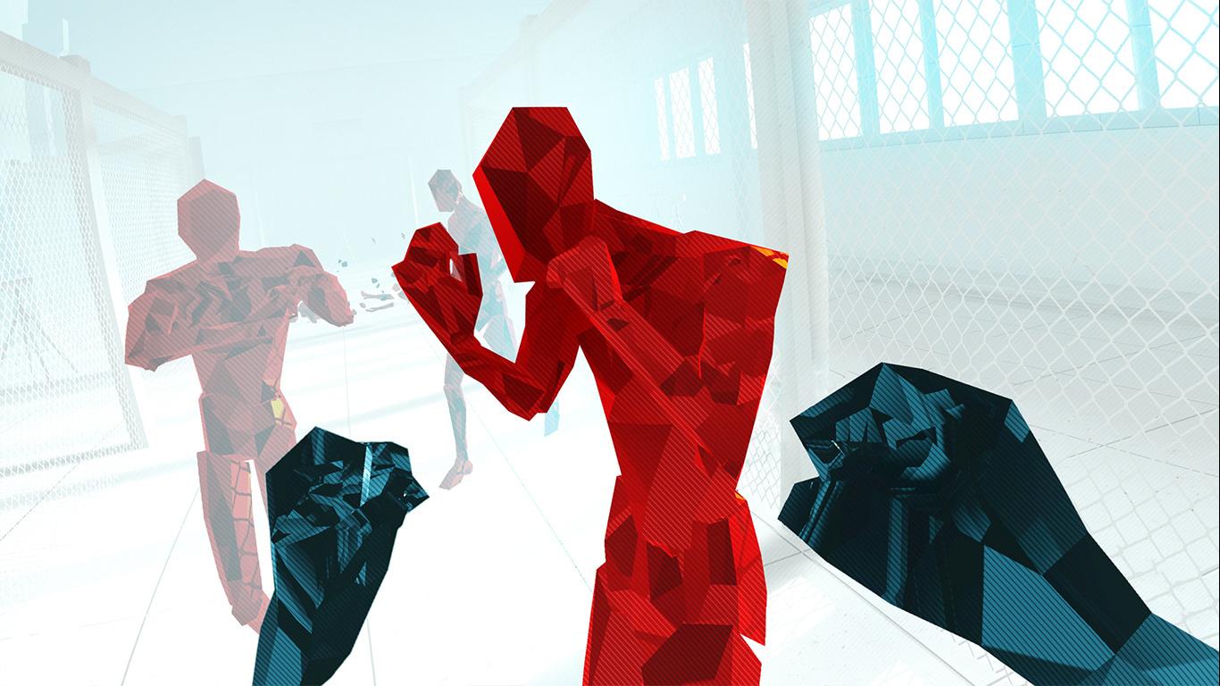 Virtual Reality in Mannheim – Superhot Game